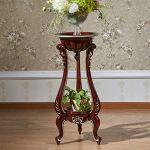 etag re de fleur pot fleur tag re style europ en solide. Black Bedroom Furniture Sets. Home Design Ideas