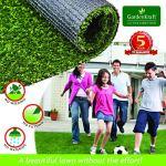 GardenKraft 26070 Rouleau de Gazon Artificiel Vert 4mx1m 15mm
