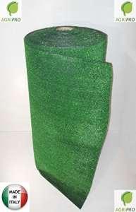 Gazon synthétique 1x 5mrésistant 7 mm vert