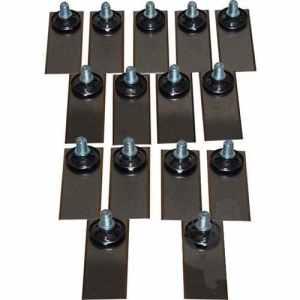 Kit de 15 Lames + vis d'origine pour tondeuse robot BELtondeuse robotICS. Remplace origine: BR12370