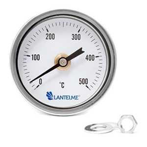 Lantelme 4236 Thermomètre de four/grill / tandoor/fumoir 500°C – Diamètre 67 mm et 15 cm longueur (67x150x8)