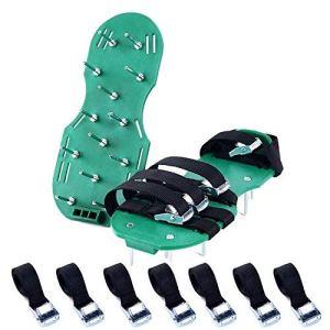 Pelouse Ventilateur Scarificateur Gazon Scarificateur Gazon ongles Chaussures pour votre gazon ou de la Cour