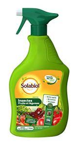 Solabiol SOLEGPAL750 Insecticide Fruits et Légumes | Prêt-à-l'emploi 49 usages, 750mL
