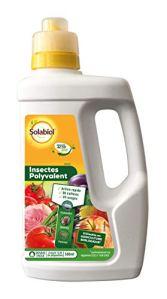 Solabiol SOPOLYLEG500 Insectes Polyvalent   Insecticide Concentré, Jusqu'à 12,5L de Solution, 500mL