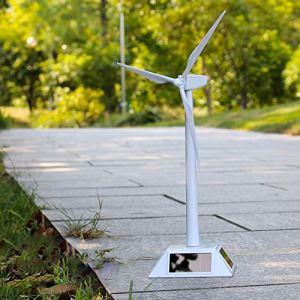 TotallyFashion Modèle de moulin à vent solaire pour apprendre les décorations
