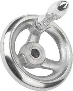 Volant sans écrou à bascule aluminium, Komp: Aluminium, D2= 34, D1= 500, 1pièce, k0160.4500x 34