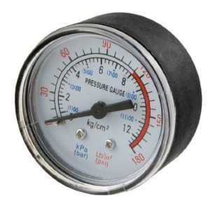 Amico PT 1/4 «filetage mâle Diamètre Compresseur d'air Baromètre 0-180 Psi