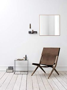 By Lassen Chaise pliante Saxe, dunkel geölt/braun, L 67cm, B 60cm, H 84cm