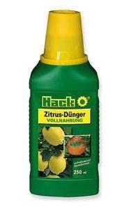 Hack zitrusdünger engrais 250 ml agrumes citrus engrais
