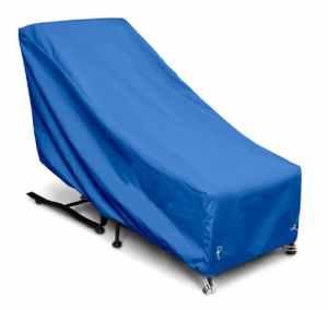 KOVERROOS Weathermax 02650Housse de Chaise et Ottoman, 71,1cm (L) x 137,2cm de diamètre 99,1cm de Hauteur, Bleu Pacifique