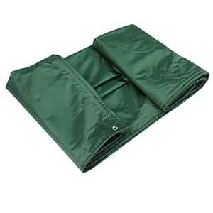 LIANGLIANG Bâche De Couverture L'ombre Extérieure Imperméabilisent La Colle Molle De PVC Avec La Bâche D'oeil De Trou De Métal, 9 Tailles (Couleur : Green, taille : 5 * 7M)