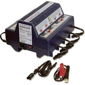 Optimate OMPRO8 – Chargeur de batteries – Gestion totale jusqu'à 8 batteries de 6 ou 12V – Plomb Acide – STD – AGM – GEL