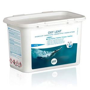 Oxygène Actif GRE en pastilles de 20g–Oxi Lent kg.1.2. Idéal pour Piscine et Spa Jacuzzi. Expédition immédiate