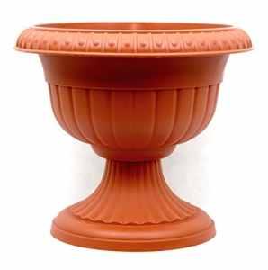 Pot de fleurs broche Pot pour plantes Roma ∅ 37cm Terracotta