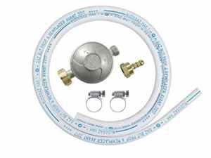 Ribitech – dg170tc75/b – Kit tube souple butane avec 1 détenteur, 1 tétine et 1 tube souple 1m50