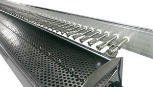 Tecnoroast fornacella Inoxydable à Charbon + Kit Automatique avec crémaillère Hommage–80pièces–Alimentation à Piles
