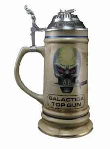 Top Gun Battlestar Galactica Stein, jardin, pelouse, de l'entretien