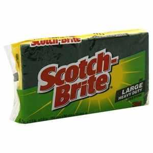 3M455Scotch-Brite Heavy Duty Scrub Sponge-SCOTCHBITE SCRUB/SPONGE