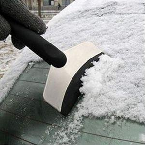 Acier inoxydable extérieur portable de voiture de voiture Pelle Pelle à neige Outil de nettoyage de voiture Ice Pelle