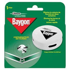 Baygon Piège Anti-Fourmis Boîte à Appât Usage Intérieur et Extérieur – Lot de 4