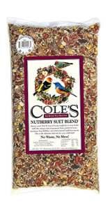 Coles oiseaux sauvages Products Co COLESGCNB20 Nutberry Suet Blend 20 livres.