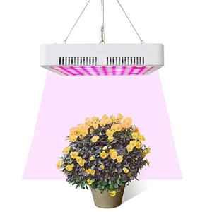 DASKOO PL-02 150W Full Spectrum Eclairage pour plantes LED Grow Light avec dissipateur de chaleur pour plantes d'intérieur et de serre hydroponiques, légumes et fleurs