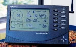 Davis 6163EU Noir Station météo numérique – Stations météo numériques (Noir, 528 mm, 239 mm, 406 mm, Synthétique ABS)