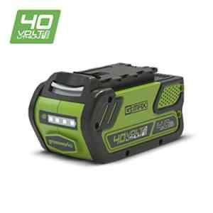 Greenworks Batterie 40V 4Ah Lithium-ion (sans chargeur) – 29727