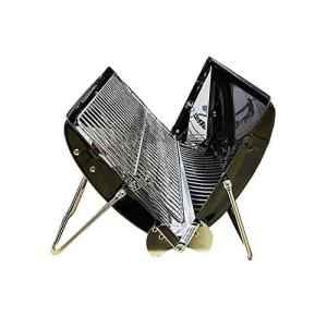 [I-grill] 10Iroda barbecue à charbon portable pliant 45x 37x 12cm léger griller BBQ outils de cuisine en plein air Camping Randonnée pique-nique Distance de sécurité en France Couleur (Noir ou rouge)