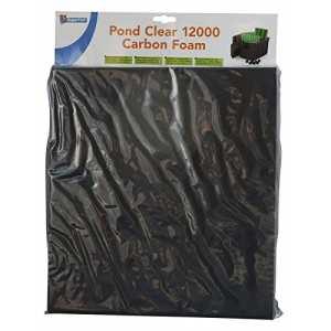 Mousse charbon actif pour filtre bassin Pond Clear 12000