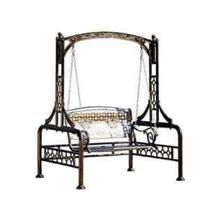Rocking chair HealthUK Chaise balancelle d'extérieur en Aluminium imperméable et ne Rouille Pas Facilement