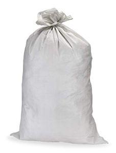 Sac blanc en polypropylène tissé – 50 kg