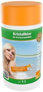 Steinbach Piscine Chimie, Cristal Transparent, Blanc, 10x 10x 20cm, 07537s01td00