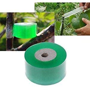 -v_esafe -v_esafe Film de greffage d'arbres fruitiers 1X Pas besoin de faire un nœud à noeuds Film spécial de greffe de fleurs Ruban d'emballage de fruitiers 100m * 3cm