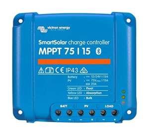 Victron Smart Régulateur de charge solaire avec intergiertem Bluetooth 75/1075/15100/15100/20