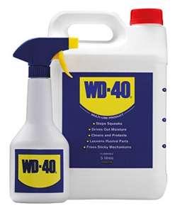 WD40 Bidon de 5 litres plus vaporisateur