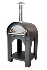 CLEMENTI Four à Bois, à Pizzas Cuisson Direct Pulcinella 80x100cm