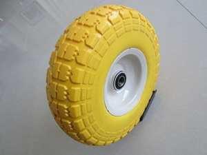Kunhua 11-pu-y-dh-16p 4.10/3.50–10,2cm support utilitaire gratuit Camion de main/Pneu, 5,7cm Offset hub, 5/20,3cm Roulements à billes, 25,4cm Diamètre de pneu, Knobby Tread