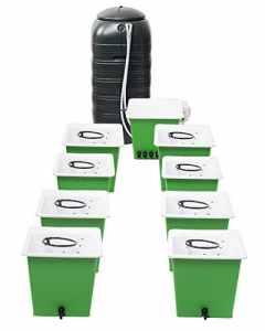 La trousse de culture hydroponique Green Man System 8 Pot