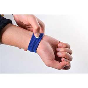 Sunnyshinee anti nausées Matin maladie Motion Voyage Bracelets de voiture Mer Avion (Bleu)