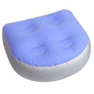 Arkone Siège D'Appoint Jacuzzi Spa Coussin Gonflable Coussin Imperméable Baignoire Massage Tapis pour Adultes Enfants