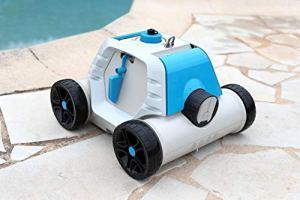 Bestway – Robot électrique autonome de piscine Thetys avec batterie rechargeable pour piscines à fond plat