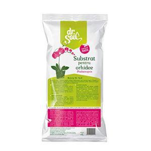 DR SOIL 5940475020019 Substrat Orchidée, Brun, 27 x 13 x 2 cm