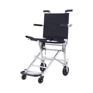 Fauteuil roulant facile de voyage, taille portative de chariot à fauteuil roulant d'alliage d'aluminium de cadre de pliage léger de fauteuil roulant: 54 * 45 * 20CM (taille : 54 * 45 * 20CM)