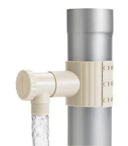 Récupérateur / Collecteur d'eau de pluie Sable + scie pour descente de 75 à 100 mm