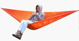 SSB Swing Hamac Balançoire De Chambre en Plein Air Adulte Camping Automatique Hamac 200kg Capacité De Charge 270 * 142cm Camping, Randonnée Jardin Sac À Dos (Color : F)