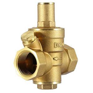 Vanne de réduction de pression réglable DN20 3/4″vanne de régulation de débit d'eau 1.6MPa