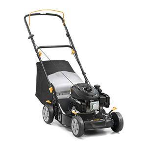Alpina 295441044/A19BL 410Tondeuse à essence 123cc, largeur de coupe 41cm, Sac de collecte 55L