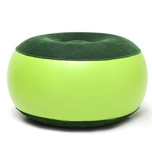 Coussin gonflable COHK – Résistant – Portable – Pour le yoga, le camping, l'extérieur, la maison, le bureau. Comme repose-pieds