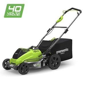 Greenworks Tondeuse à gazon Brushless sans fil sur batterie 45cm 40V (sans batterie ni chargeur) – 2500407
